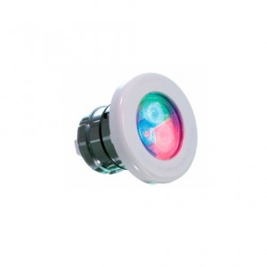 "Светильник ""Astralpool LUMIPLUS MINI 2.11"" RGB 4Вт/12В, накладка ABS-пластик, каб. 2,5м, плитка"