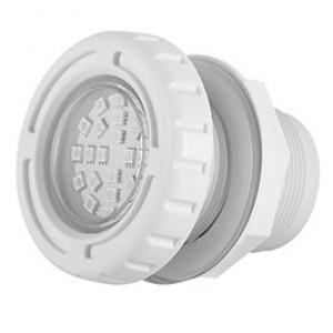 Cветильник N631, LED, белый холодный, встраиваемый, гайка, 5Вт, 12В AC, ABS