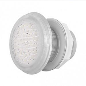 Cветильник N841, LED, белый холодный, встраиваемый, гайка, 5Вт, 12В AC, ABS