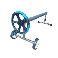 Сматывающее устройство стойки нерж.сталь, телескоп. штанга 4/5,5 м