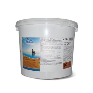 Многофункциональные 3 в 1 медленнорастворимые стаб. таблетки хлора 80%,  200гр., 25 кг