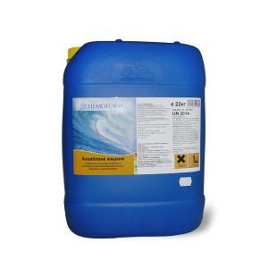 Аквабланк активный жидкий кислород с альгицидом  22 кг