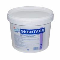 ЭКВИТАЛЛ медленный коагулянт (таблетки в картридже) ведро 2 кг /(1уп=4шт)