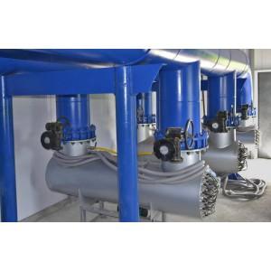 Ультрафиолетовая установка 500м³/час, амальгам, UV TECH