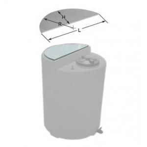 Суппорт (пластина) для TANK 230L, полипропилен 20 мм