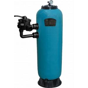 "Фильтр HPS13450, шпул. навивки, d.450мм.,5,6м³/ч, выс загр. 0,8м, бок.подкл. 1½"", без вентиля"