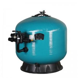 """Фильтр KS1000, шпул. навивки, d.1000мм, 32м³/час, бок. подкл. 2"""", без вентиля"""