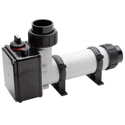 Водонагреватель 18 кВт Pahlen корпус пластик, тэн Incoloy825 д/п, термостат,реле перегрева,муфты d50