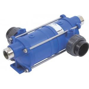Теплообменник HI-TEMP, 40 кВт, корпус пластик, спираль AISI-316, Pahlen