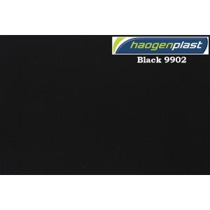 "Пленка ПВХ 1,65х25,00м ""Haogenplast"", Black, черный"