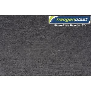 "Пленка ПВХ 1,65х25,00м ""Haogenplast StoneFlex"",  Bazelet, серый"