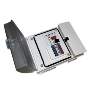 Пульт управления аттракционом 380В, 2,2 кВт, авт.4-6,3А, с пневмовыключателем