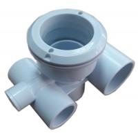 Корпус для гидромассажной форсунки из ABS, пластика, d32*50мм
