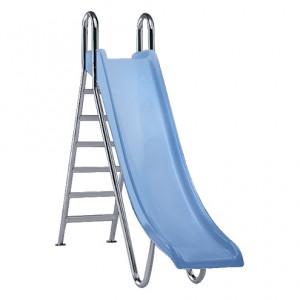 Ступени, поручни и фурнитура для горки Straight, прямая, высота 1,8 м, цвет синий