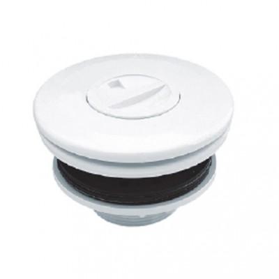 """Форсунка подключения пылесоса из ABS-пластика (внутр.) Ø 50, (наруж.) G2""""(пленка)"""